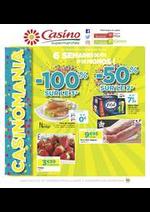Prospectus Supermarchés Casino : 6 semaines de fête et de promos !
