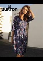 Prospectus Burton : Robe & Jupes Femme