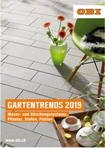 Prospectus OBI : Gartentrends 2019