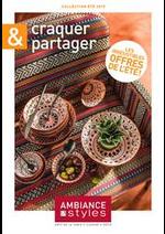Prospectus Ambiance et styles : Craquer & Partager