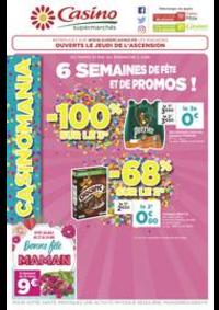 Prospectus Supermarchés Casino PARIS 352 RUE LECOURBE : 6 semaines de fête et de promos !