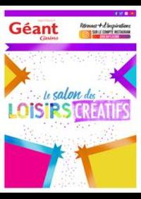 Prospectus Géant Casino BOISSY SAINT LÉGER : Le salon des loisirs créatifs