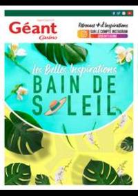 Prospectus Géant Casino BOISSY SAINT LÉGER : Les Belles Inspirations bain de soleil