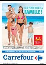 Prospectus Carrefour : L'été pour toute la famille !