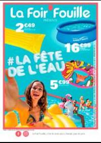 Prospectus La Foir'Fouille PONTAULT COMBAULT : La fête de l'eau