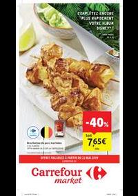 Prospectus Carrefour Market : Carrefour market : offres valables à partir du 22 mai 2019
