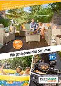 Prospectus Do it + Garden Bern - Marktgasse Fachmarkt : Wir geniessen den Sommer.