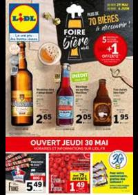 Prospectus Lidl VILLIERS LE BEL : Foire à la Bière