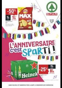 Prospectus Spar Deuil La Barre : L'anniversaire c'est Sparti!