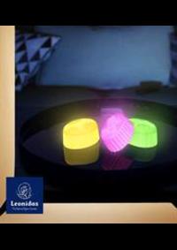 Prospectus Leonidas Paris - Les Belles Feuilles : Chocolats Leonidas