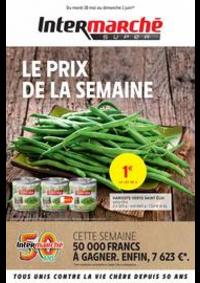 Prospectus Intermarché Super Pont de Roide : LE PRIX DE LA SEMAINE
