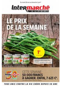 Prospectus Intermarché Super Les Hôpitaux Neufs : LE PRIX DE LA SEMAINE