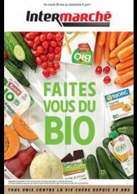 Prospectus Intermarché Super Bondy : Faites vous du Bio