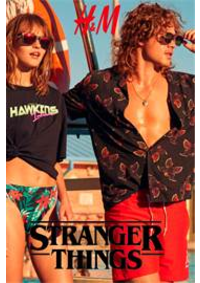 Prospectus H&M Paris 54 bd Haussmann : Stranger Things Collection