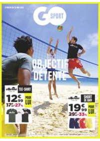 Prospectus Go Sport ANNEMASSE : Objectif Détente