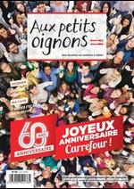 Journaux et magazines Carrefour : Aux Petits Oignons Juin