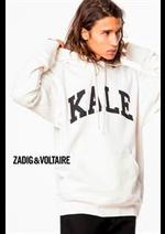 Prospectus Zadig et voltaire : Collection T-Shirt & Sweatshirts / Homme