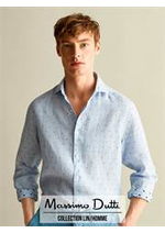 Prospectus Massimo Dutti : Collection Lin / Homme