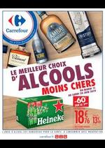 Prospectus Carrefour : foire aux alcools et aux bières