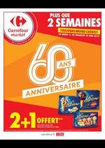 Promos et remises Carrefour Market : La fête des clients 2