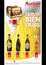 Prospectus Auchan : Servir bien frais
