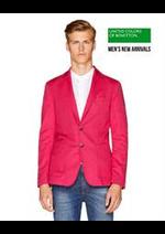 Catalogues et collections Benetton : Men's New Arrivals