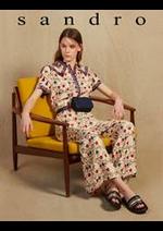 Catalogues et collections Sandro : Combinaison Femme