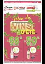 Prospectus Supermarchés Casino : Salon des vins d'été