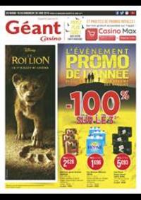 Prospectus Géant Casino ARGENTEUIL : L'évènement promo de l'année