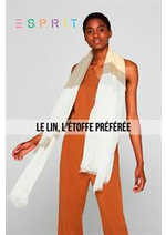 Catalogues et collections Esprit : Le Lin, L'étoffe Préférée