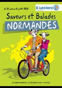 Prospectus E.Leclerc L'AIGLE : Saveurs et balades normandes