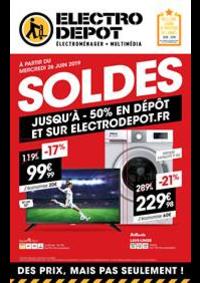 Prospectus ELECTRO DEPOT BRIE COMTE ROBERT : Soldes