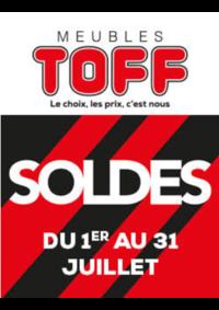 Promos et remises Meubles Toff : Soldes