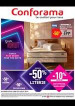Promos et remises Conforama : Catalogue Conforama