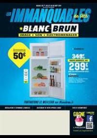 Prospectus Blanc Brun MORTEAU : Les immanquablesde l'été