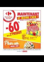 Prospectus Carrefour Market : Spécial plein air