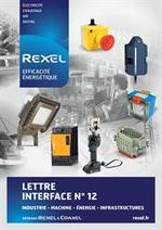 Prospectus Rexel : Lettre interface 12