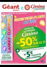 Prospectus Géant Casino PONTARLIER : Cahier salon de la marque Casino