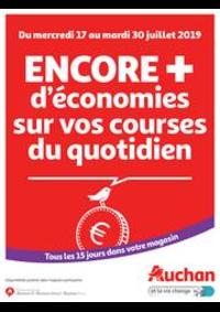 Promos et remises Auchan Melun Senart Cesson : Catalogue Auchan