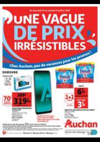 Prospectus Auchan drive Belfort - Bessoncourt : Une vague de prix irrésistibles