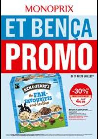 Prospectus Monoprix CHELLES : Et bença promo