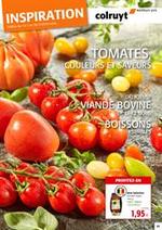 Prospectus Colruyt : Tomates, couleurs et savaurs