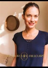 Catalogues et collections Un jour ailleurs ERMONT : Tops & Shirts Femme