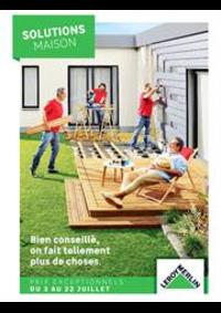 Prospectus Leroy Merlin St Denis-la-Plaine : Solutions Maison