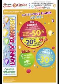 Prospectus Supermarchés Casino ASNIERES ZAC du métro - Ilot F : Faites-vous plaisir cet été !