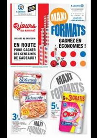 Prospectus E.Leclerc PONTAULT COMBAULT : Maxi Formats, Gagnez en économies!