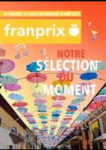 Prospectus Franprix : Au rythme des rues