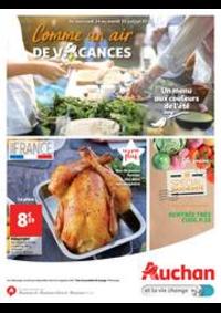 Prospectus Auchan drive Taverny : Comme un air de vacances