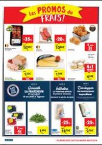 Prospectus Carrefour Market JODOIGNE Av Des Commandants Borlee : folder Carrefour Market
