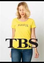 Prospectus TBS : T-Shirt Femme